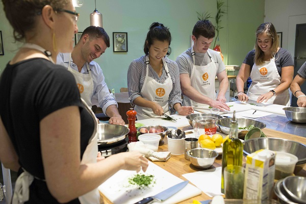 Cooking classes at our NYC cooking school    Home Cooking